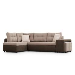 Adam-I Reversible Sectional Sofa-Bed (dark grey)
