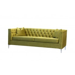Edge-1798 Sofa with cushions (chartreuse)