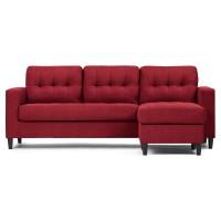 Sofia Sofa Reversible (ruby red)