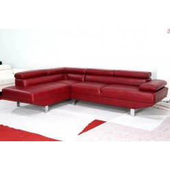 Vienna Sectional Sofa (red)