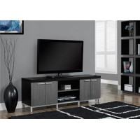 "I-2590  TV Stand – 60""L Black/Grey"