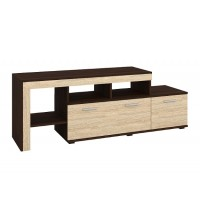 "TV Stand PRADO 62""L (dark brown+sonoma)"