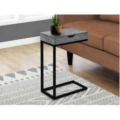 I-3603 Accent Table with drawer (grey)