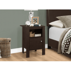 I-2135 Accent Table with storage (cappuccino)