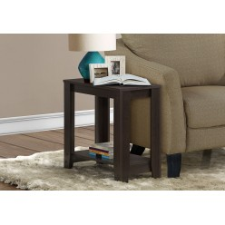 I-3119 Accent Table with shelf (cappuccino)