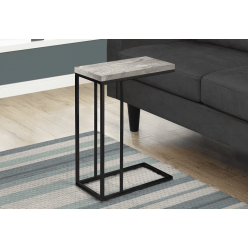I-3404 Accent Table (gray/metal black)