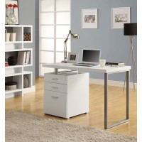 "I-7027 Computer Desk - 48""L (white/left or right gacing)"