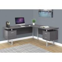 "I-7306 Computer desk - 70""L (grey/left or right facing)"