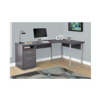 """I-7257 Computer desk 80""""L (grey)"""