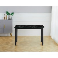 Table S-128M (marble/glass)