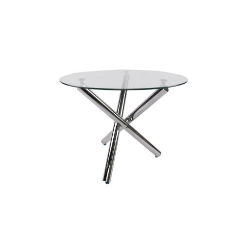 Table S-158 (glass/chrome legs)