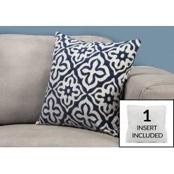 I-9226 cushion 1mcx (white/dark blue)